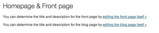 description wordpress