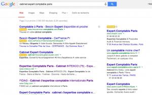 Nouveau design google