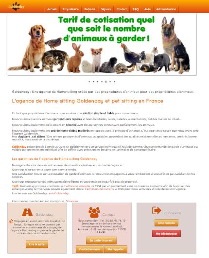 site garde de chiens