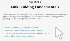 fondamentaux du link building