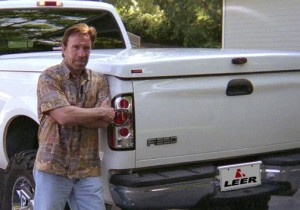 Le pick up de walker texas ranger
