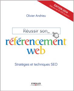 Livre réussir son référencement web olivier andrieu