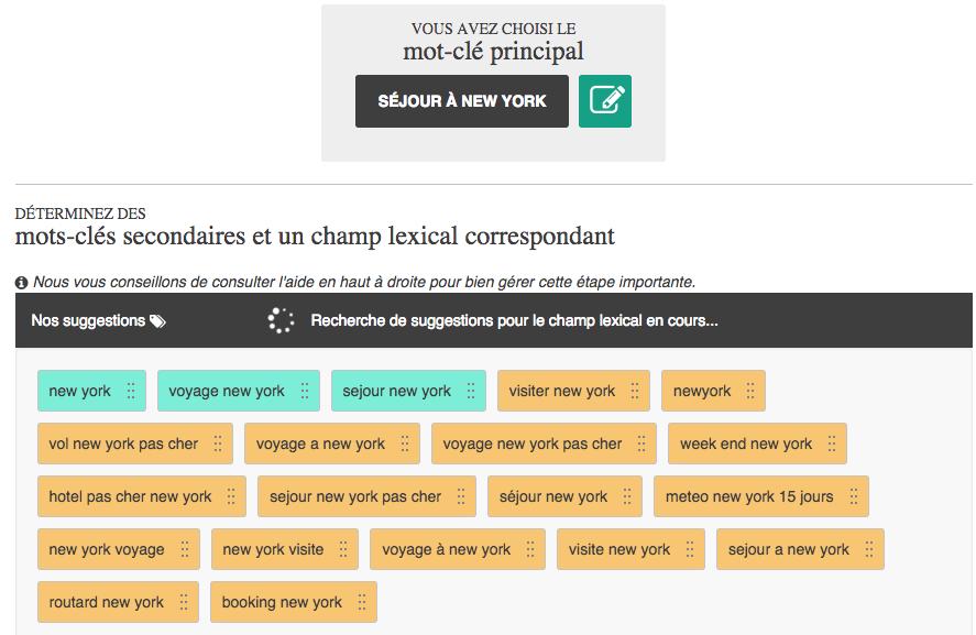 Suggestion de mots-clés pour améliorer son référencement sur Google