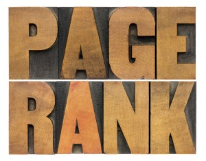page rank referencement