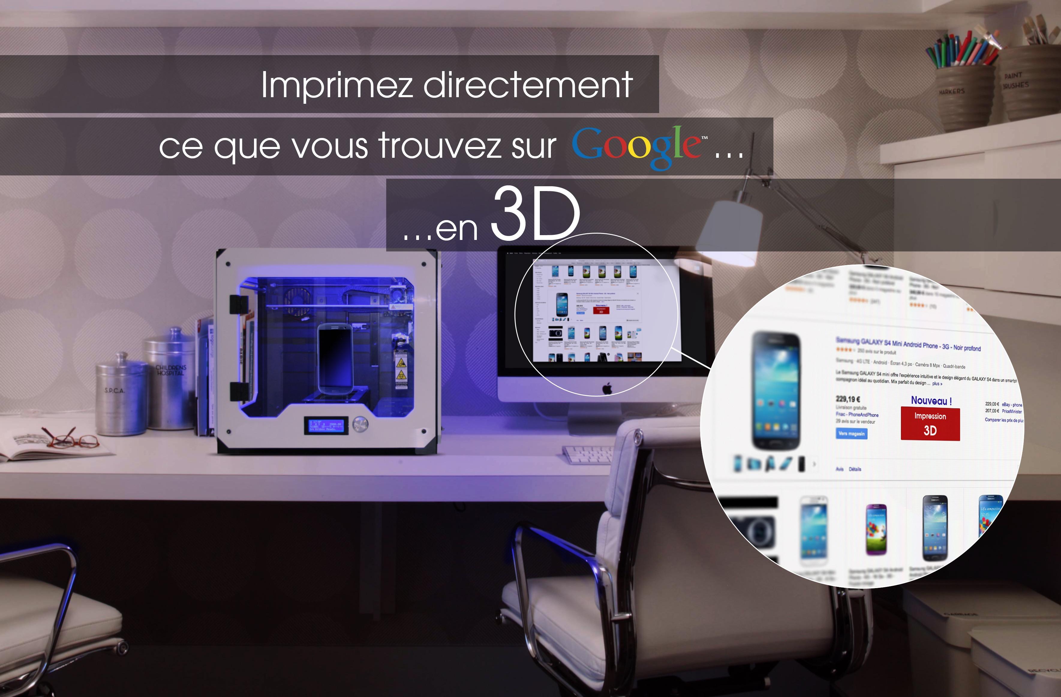 imprimante 3D Google