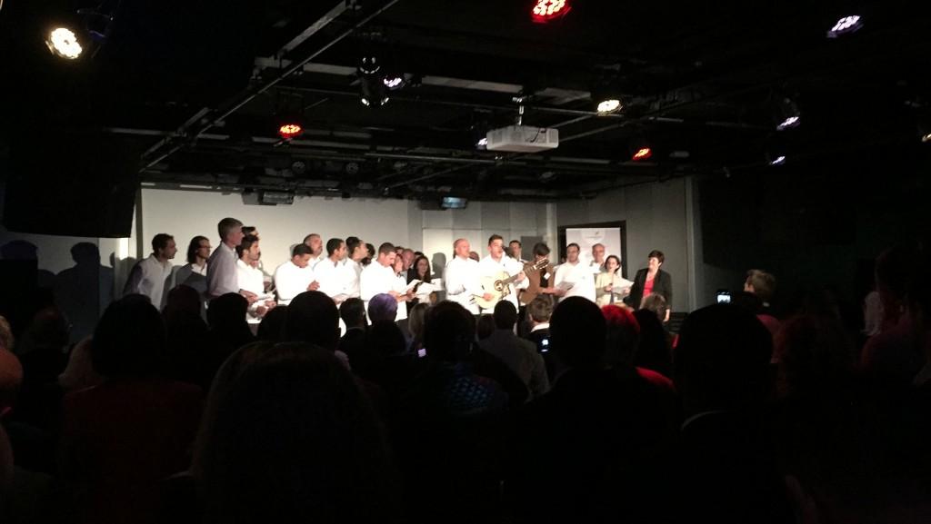 La chanson qui a fait danser le monde entrepreneurial Lyonnais à la soirée des lauréats Réseau entreprendre