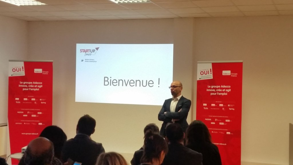 Adecco Start'up tour