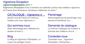 vignerons d'exception google