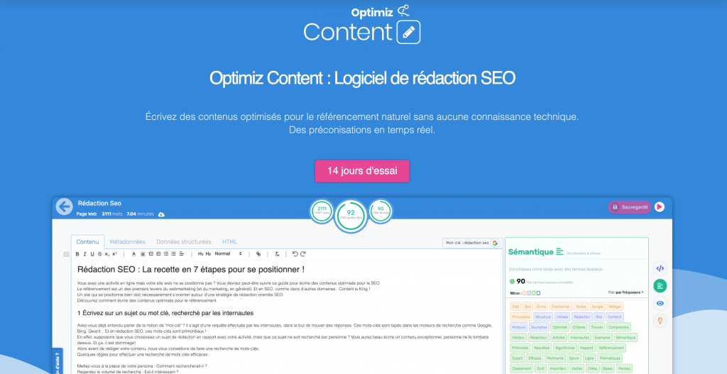 landing page optimiz content